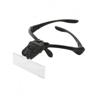 Loepbril met led-verlichtingen