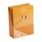 Display 15 x reinigings- en make-up remover masker
