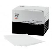 200 reinigingsdoeekjes voor penselen 12x10cm