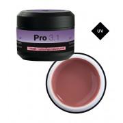 Pro 3.1 UV-bouwgel camouflage natural pink 15g