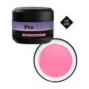 Pro 3.1 Monofase Gel - UV/LED 15 g Roze Transparant