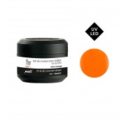 Gekleurde gel technigel paint UV&LED neon orange 5g