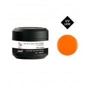 Gekleurde gel voor nagels UV&LED neon orange 5g