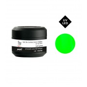 Gekleurde gel technigel paint UV&LED neon green 5g