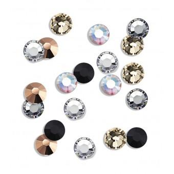 20 strasseenjes voor nagels Veelkleurig SS5