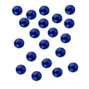 20 strasseenjes voor nagels majestic blue SS5