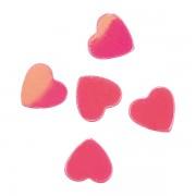 Glitter voor nagels pink hearts