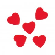 Glitter voor nagels fuchsia hearts