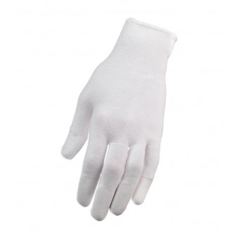 1 paar nylon manicure handschoenen